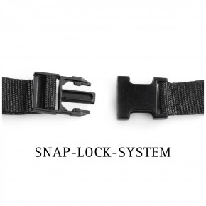 NEU - FESTSITZENDER STRAPON inkl. PREMIUM Silikon-Dildo mit SNAP-LOCK-SYSTEM - 21,0 cm lang